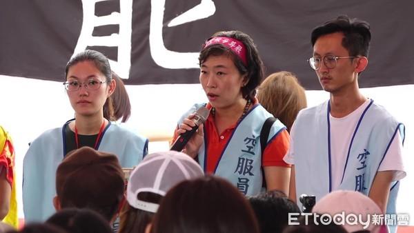 長榮罷工第7天! 工會喊話空服員:一起退,工會不是不能接受