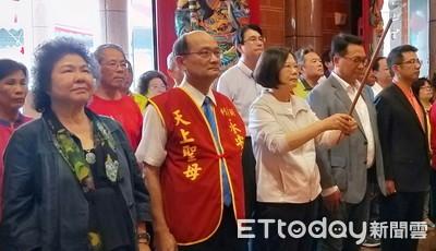蔡英文:沒主權守不住民主自由