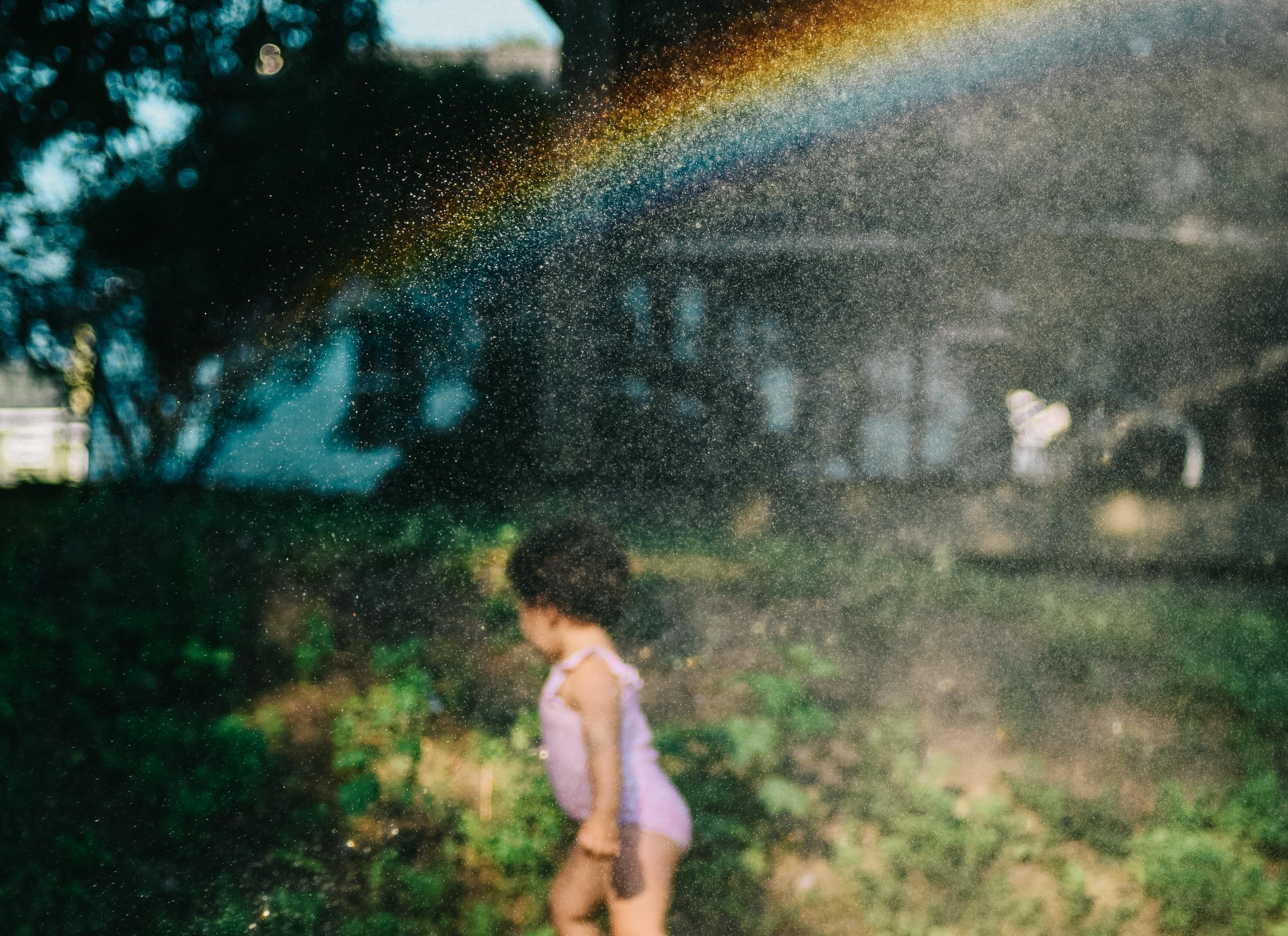 ▲彩虹,家庭,小孩,婚姻,孩子。(圖/取自免費圖庫Pexles)