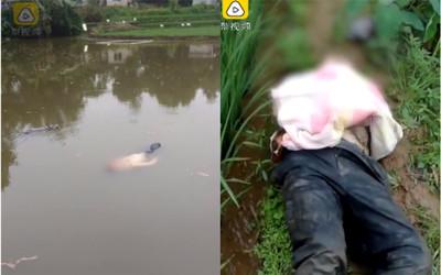「池塘漂屍」在打呼 男:夢裡好冷