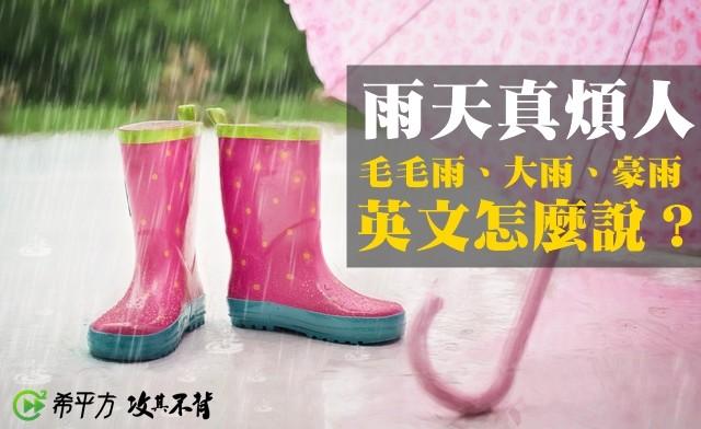 ▲下雨。(圖/希平方提供)