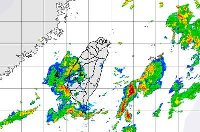 快訊/中南部水氣來了!吃午餐注意雨勢