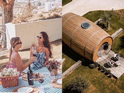 葡萄牙推出「巨大酒桶民宿」