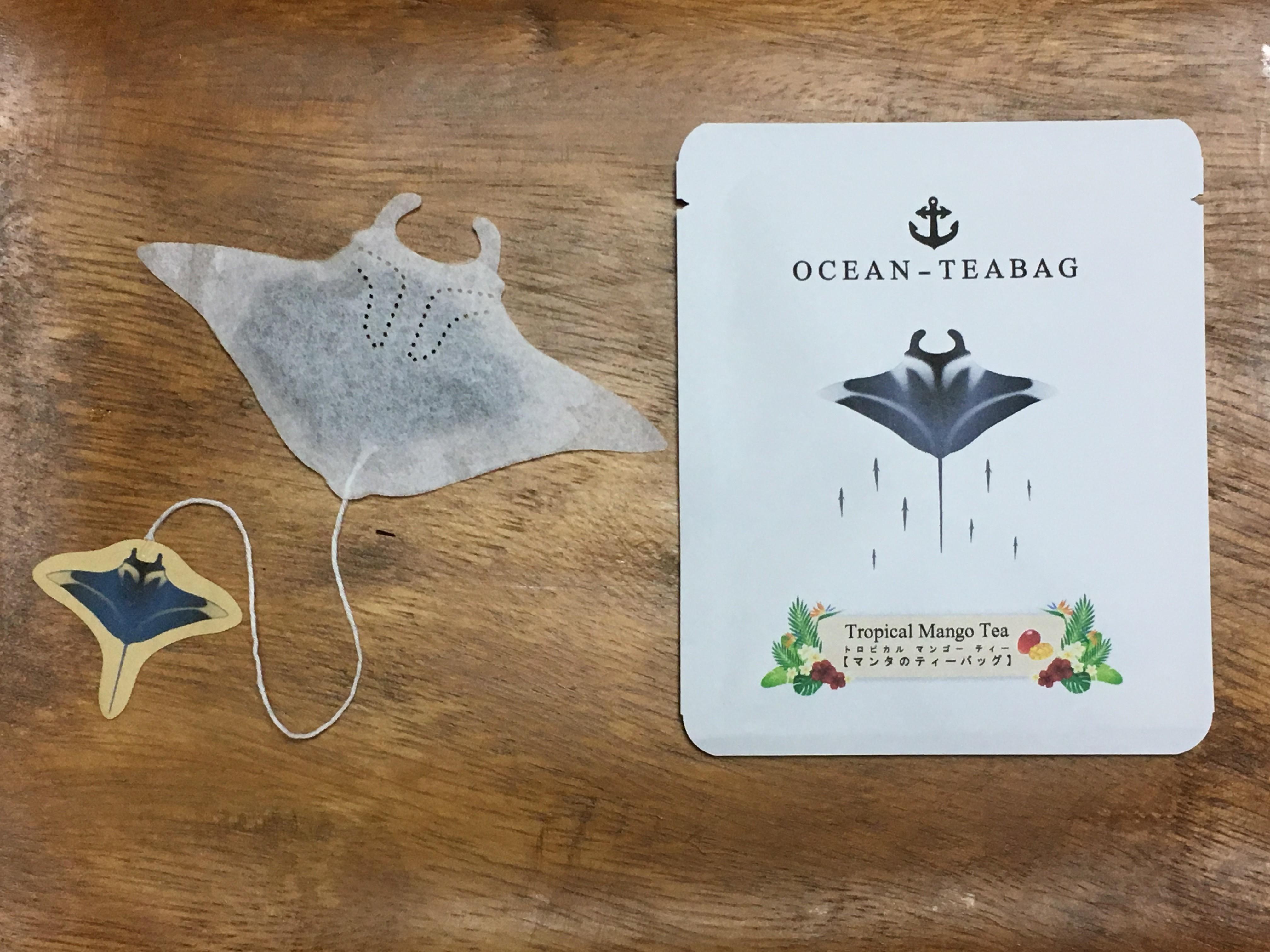 ▲▼ 動物造型茶包 。(圖/翻攝自ocean-teabag)