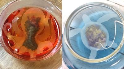 八爪章魚霸佔紅茶杯! 海底&陸上超Q動物茶包 讓人一秒被收服