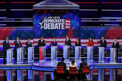 民主黨首場辯論 川普嗆:無聊!