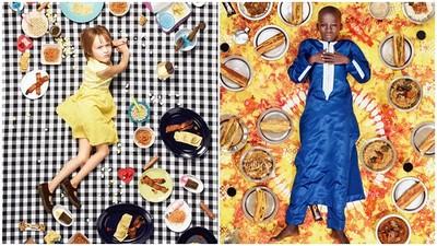 每周吃什麼? 攝影師遊9國拍攝孩童飲食 美國看不到綠色蔬菜