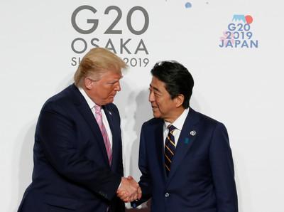 G20峰會登場 川普與安倍談這些