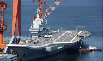 陸首艘國產航母「十一國慶」閱兵將缺席