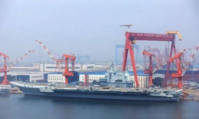 首艘國產航母10月服役?陸國防部這麼說