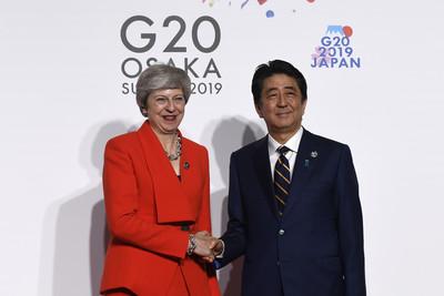 G20破冰?梅伊安排與普丁會談