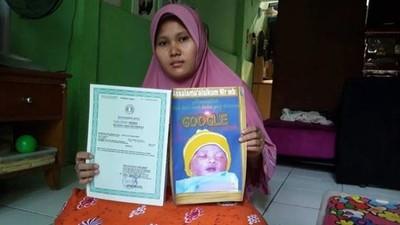 印尼爸將5歲嬰取名「Google」 媽媽皺眉:希望他未來成為世界霸主
