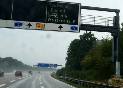 德國Autobahn因高溫限速100km/h