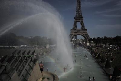 法國熱浪 高溫45.9度刷新紀錄