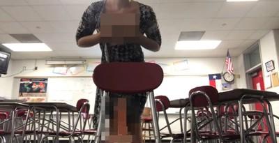 女師教室自拍AV 警搜影片一看:無罪