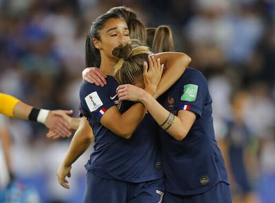 世界盃女足法國吞敗地主再度無緣4強
