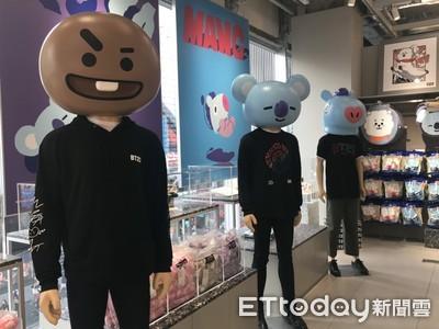 BTS防彈少年團親筆創作BT21手稿 就在LINE FRIENDS原宿旗艦店