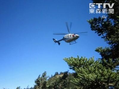 補給直升機玉山墜毀 3人罹難