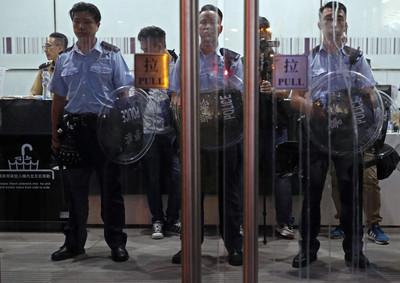 香港建制團體辦「全民撐警日」