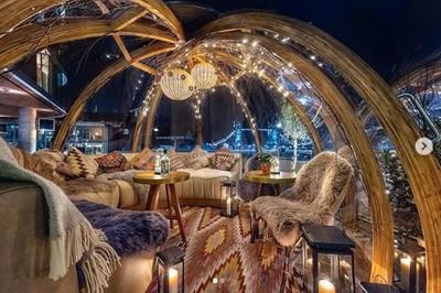 倫敦超夢幻「玻璃泡泡屋餐廳」