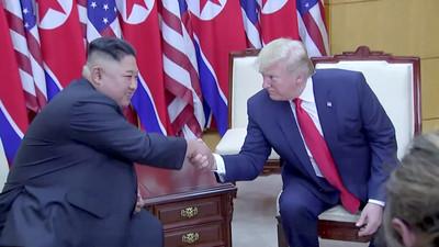 川普推文嚇到金正恩 展現兩國友好