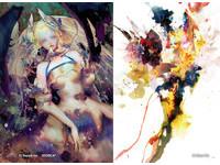 日台奇幻繪師鈴木康士xBlaze Wu聯展 7/13起在台展出