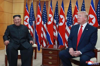 川普:金正恩不愛笑但見我就笑