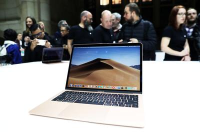 MacBook Air 2018主機板有瑕疵!蘋果低調發信「免費換」
