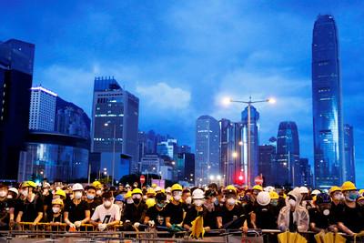尤美女/香港反送中事件看台灣民主