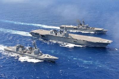 東北亞航艦競賽?日本欲建立航艦武力