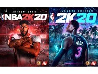 迎戰未來!AD、閃電俠出任《NBA 2K20》封面球星