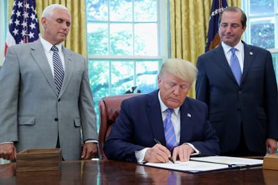 川普:美中貿易談判已重新開始