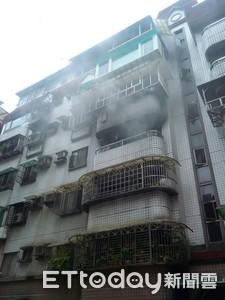 汐止大樓火警!3F在燒…6F女住戶嚇到送醫