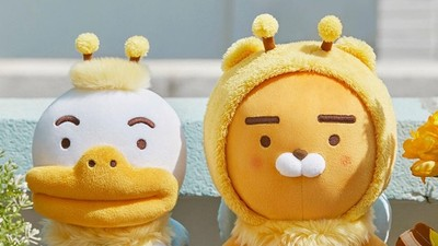 韓國超人氣Kakao Friends超有事 Ryan像熊不是熊 MUZI真身是醃蘿蔔