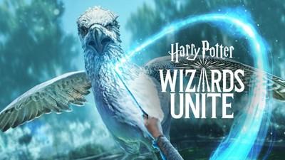 J·K·羅琳粉不能錯過《哈利波特:巫師聯盟》 手機變法杖上街對付魔混