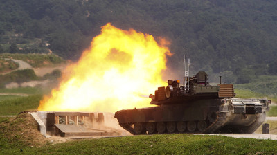 M1A2T預算明年公開 國防部:編列300億