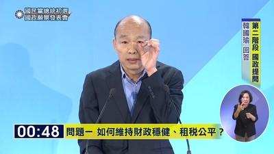 韓國瑜以政略壓制郭台銘的經略