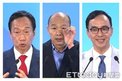國民黨初選民調決戰48小時