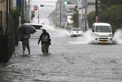 南九州豪雨成災 113萬人避難