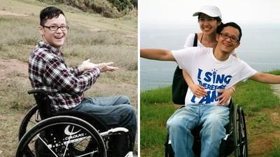 「只要在一起,就會變容易」醫師娘守護癱瘓老公不離不棄 把愛寫成歌