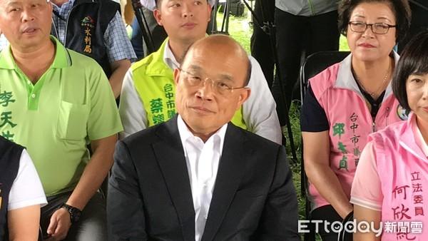 ▲行政院長蘇貞昌。(圖/記者李忠憲攝)