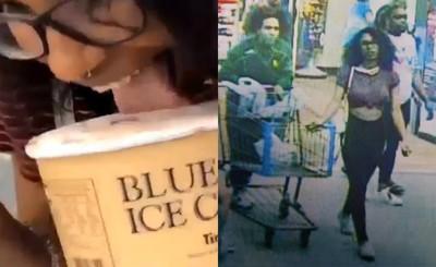 糗!她偷舔冰淇淋面臨最高20年刑期