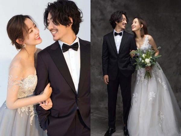 ▲▼周奇奇、江奇霖結婚。(圖/翻攝自微博/愛奇藝)