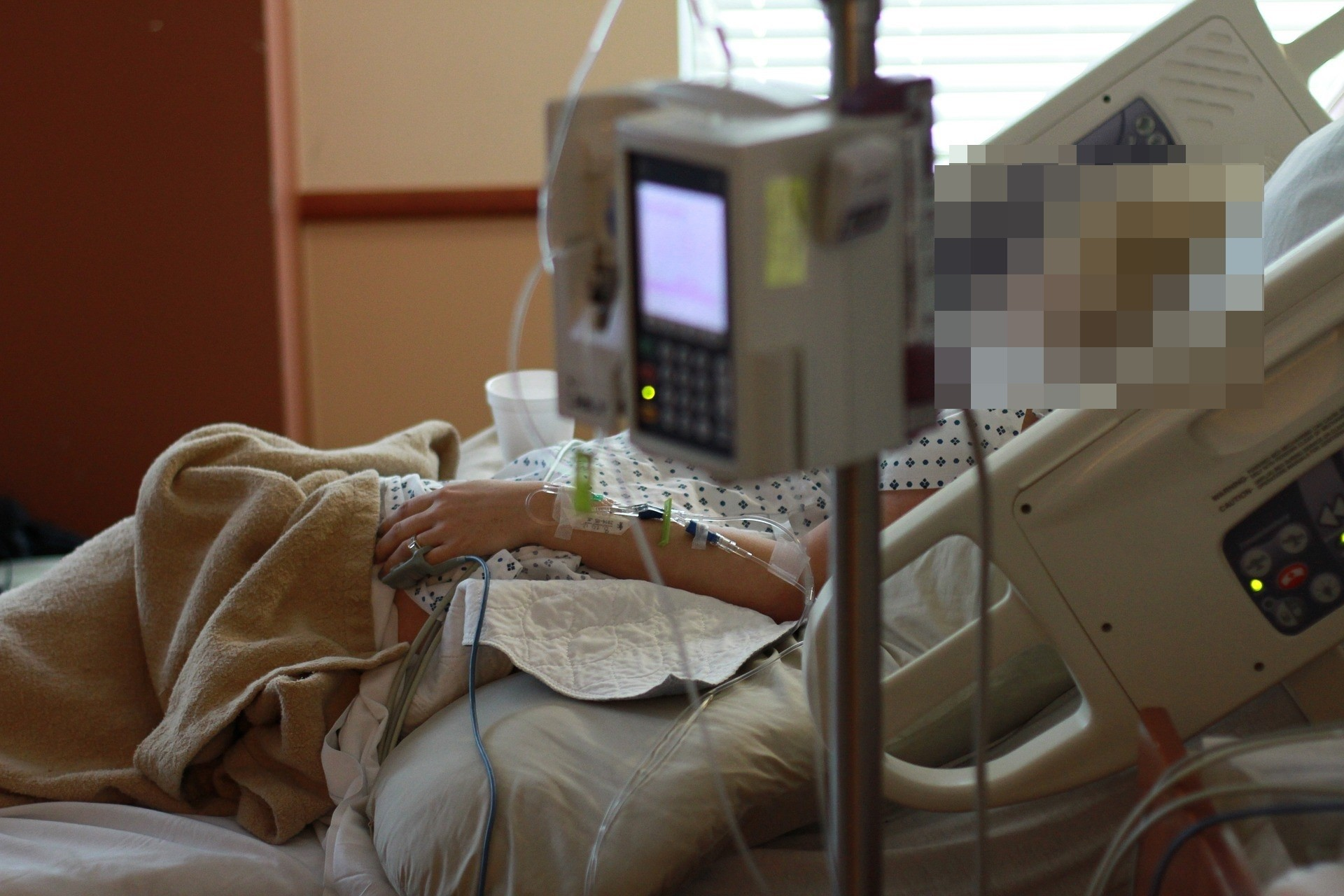 ▲▼ 病人,病床,住院。(圖/取自免費圖庫pixabay)