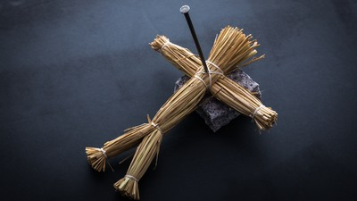 神社旁撞見「釘草人儀式」 日本藝人倒抽口氣...被發現死路一條