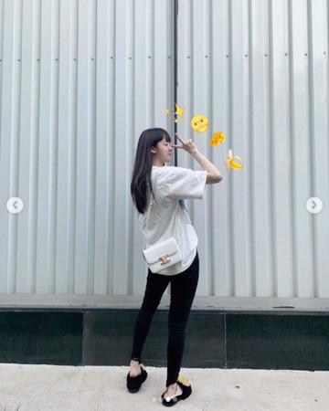 ▲▼歐陽娜娜換招牌髮型!(圖/翻攝自Instagram/nanaouyang)