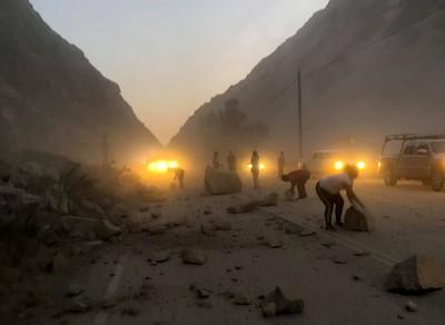 7.1地震釀災 聖博納迪諾郡緊急狀態