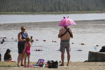 阿拉斯加熱浪 破紀錄高溫32℃