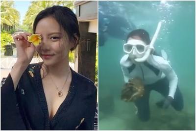 韓星泰國潛水抓巨蚌 恐被關5年