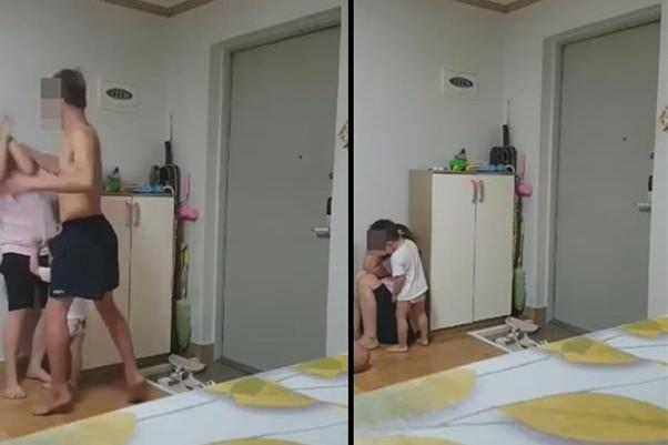 ▲▼南韓越南新住民遭家暴。(圖/翻攝自YouTube/강아지회무침)